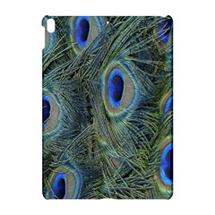 Peacock Feathers Blue Bird Nature Apple Ipad Pro 10 5   Hardshell Case