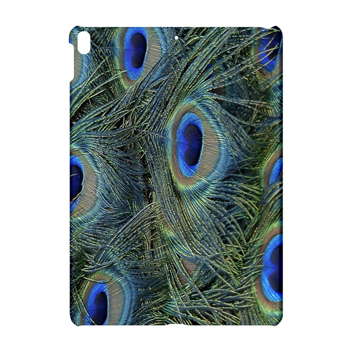Peacock Feathers Blue Bird Nature Apple iPad Pro 10.5   Hardshell Case