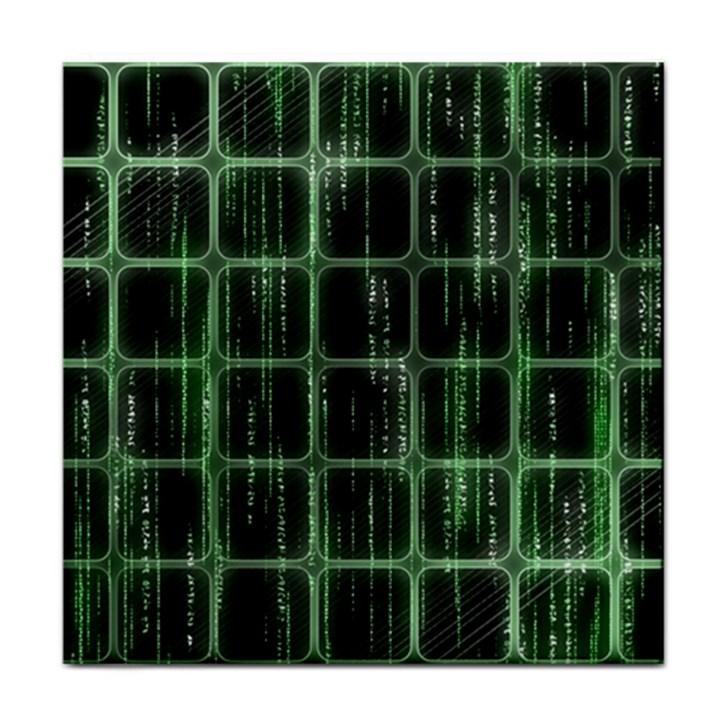 Matrix Earth Global International Tile Coasters