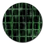 Matrix Earth Global International Round Mousepads Front