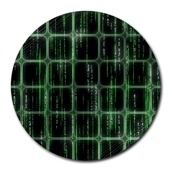 Matrix Earth Global International Round Mousepads