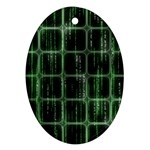 Matrix Earth Global International Ornament (Oval) Front