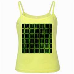 Matrix Earth Global International Yellow Spaghetti Tank