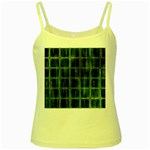 Matrix Earth Global International Yellow Spaghetti Tank Front