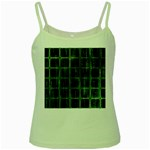 Matrix Earth Global International Green Spaghetti Tank Front