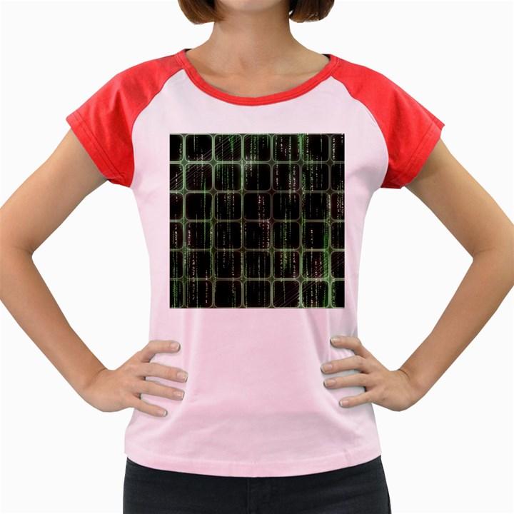 Matrix Earth Global International Women s Cap Sleeve T-Shirt