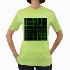 Matrix Earth Global International Women s Green T Shirt