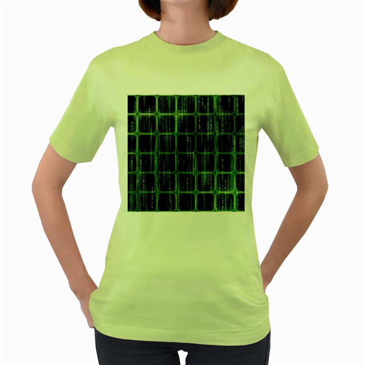 Matrix Earth Global International Women s Green T-Shirt