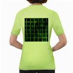 Matrix Earth Global International Women s Green T-Shirt Back