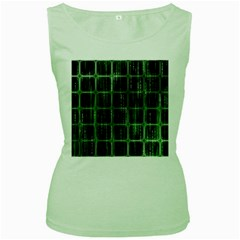 Matrix Earth Global International Women s Green Tank Top