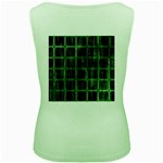 Matrix Earth Global International Women s Green Tank Top Back