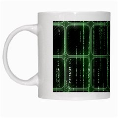 Matrix Earth Global International White Mugs