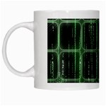 Matrix Earth Global International White Mugs Left