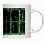 Matrix Earth Global International White Mugs Right