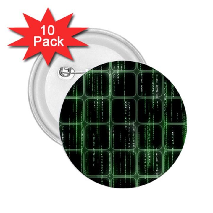 Matrix Earth Global International 2.25  Buttons (10 pack)