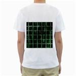 Matrix Earth Global International Men s T-Shirt (White) (Two Sided) Back