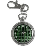 Matrix Earth Global International Key Chain Watches Front