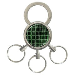 Matrix Earth Global International 3 Ring Key Chains