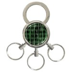 Matrix Earth Global International 3-Ring Key Chains Front