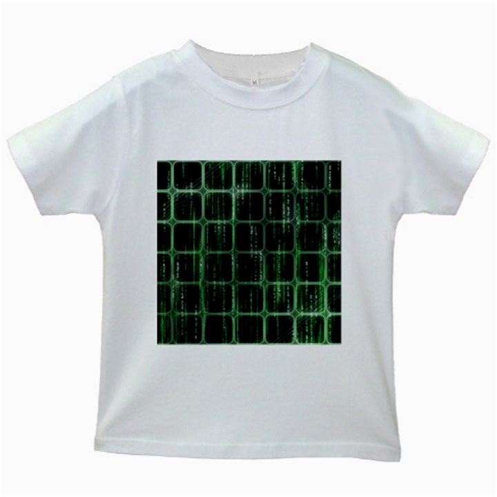 Matrix Earth Global International Kids White T-Shirts