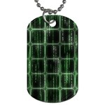 Matrix Earth Global International Dog Tag (One Side) Front