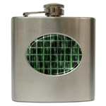 Matrix Earth Global International Hip Flask (6 oz) Front