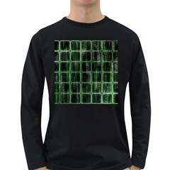 Matrix Earth Global International Long Sleeve Dark T Shirts