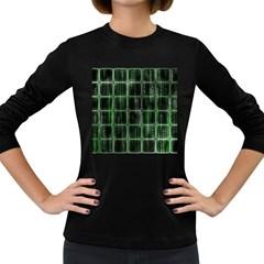 Matrix Earth Global International Women s Long Sleeve Dark T Shirts