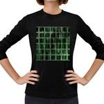 Matrix Earth Global International Women s Long Sleeve Dark T-Shirts Front