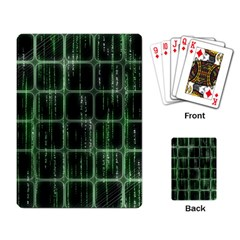 Matrix Earth Global International Playing Card
