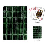 Matrix Earth Global International Playing Card Back