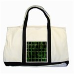 Matrix Earth Global International Two Tone Tote Bag Front
