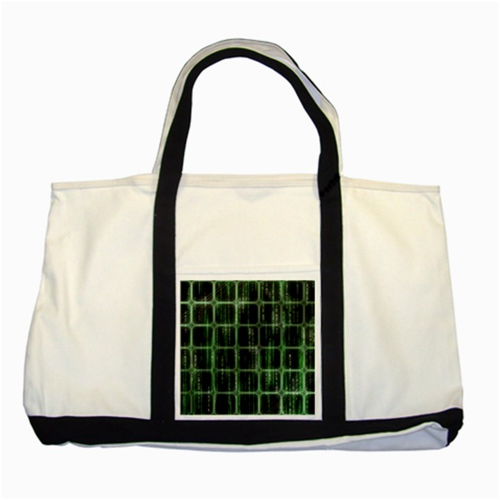 Matrix Earth Global International Two Tone Tote Bag