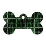 Matrix Earth Global International Dog Tag Bone (Two Sides) Back