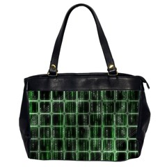 Matrix Earth Global International Office Handbags (2 Sides)