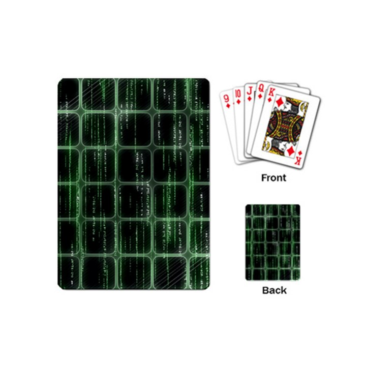 Matrix Earth Global International Playing Cards (Mini)