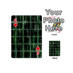 Matrix Earth Global International Playing Cards 54 (Mini)  Front - Heart6