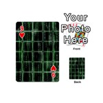Matrix Earth Global International Playing Cards 54 (Mini)  Front - Heart9