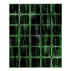 Matrix Earth Global International Shower Curtain 60  X 72  (medium)