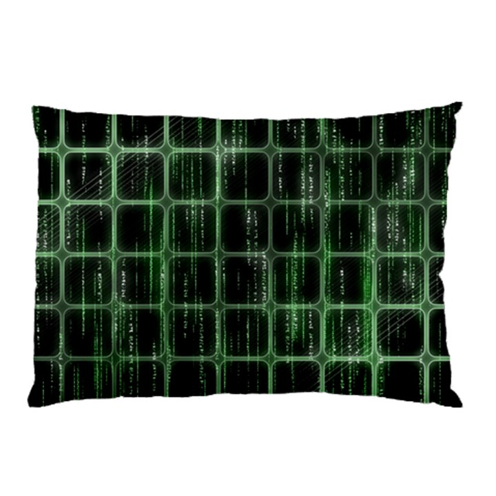 Matrix Earth Global International Pillow Case (Two Sides)