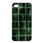 Matrix Earth Global International Apple iPhone 4/4s Seamless Case (Black) Front