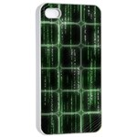 Matrix Earth Global International Apple iPhone 4/4s Seamless Case (White) Front