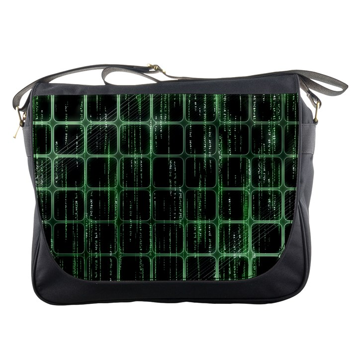 Matrix Earth Global International Messenger Bags
