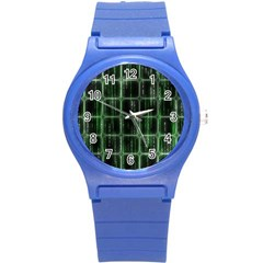 Matrix Earth Global International Round Plastic Sport Watch (s)