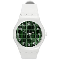 Matrix Earth Global International Round Plastic Sport Watch (m)