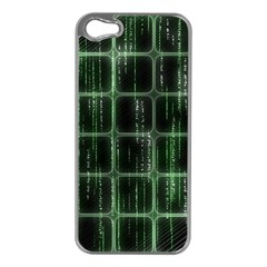 Matrix Earth Global International Apple Iphone 5 Case (silver)