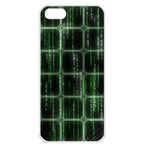 Matrix Earth Global International Apple iPhone 5 Seamless Case (White) Front