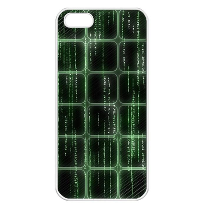 Matrix Earth Global International Apple iPhone 5 Seamless Case (White)
