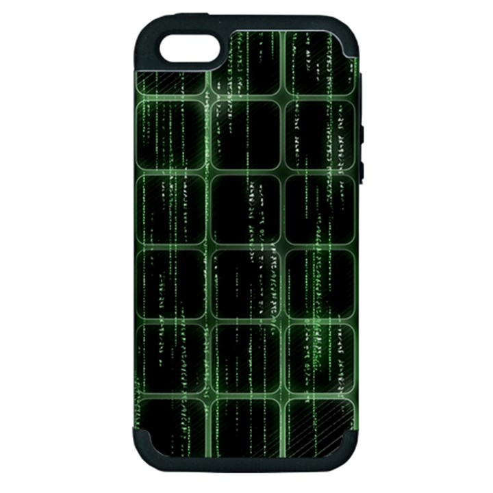 Matrix Earth Global International Apple iPhone 5 Hardshell Case (PC+Silicone)