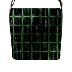 Matrix Earth Global International Flap Messenger Bag (l)